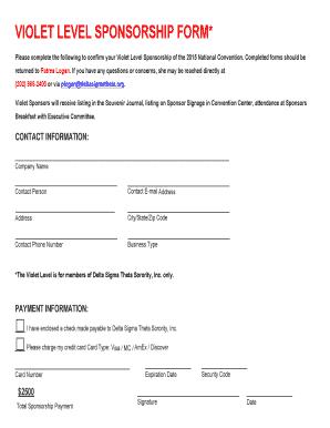 Fillable level of effort template excel edit print download violet level sponsorship form filesctctcdn maxwellsz
