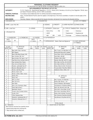 Fillable Online gordon army DA FORM 3078, JUL 2014 - Army Fax ...