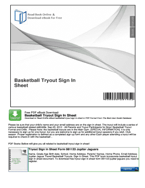 fillable online 3 on 3 basketball tournament sign up sheet template