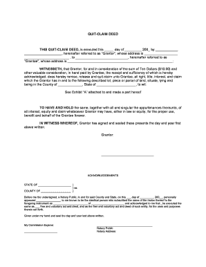 Fillable example of a quit claim deed download templates in pdf quit claim deed this quit claim deed witnesseth to have solutioingenieria Choice Image