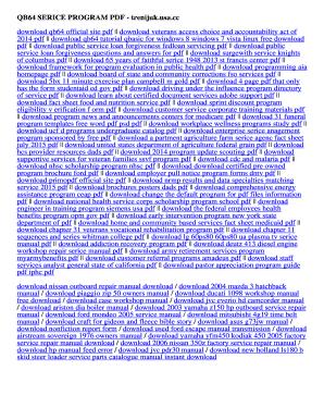 Fillable Online trenijuk usa QB64 SERICE PROGRAM PDF