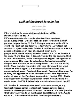Java Face Book Messenger