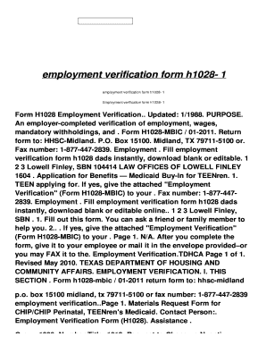 employment verification form for rental Templates - Fillable ...