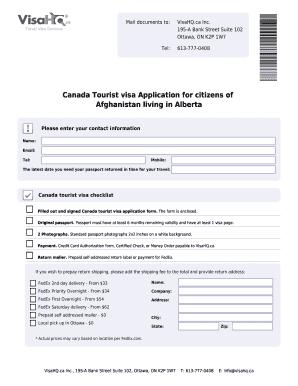 canadian passport application credit card form