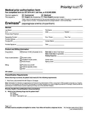 Fillable Online Medical prior authorization form. Request ...