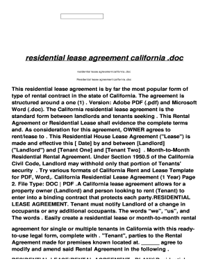 residential lease agreement california .doc