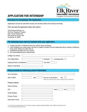 Internship confirmation letter to college edit print fill out internship confirmation letter to college ert internship application v2 elk river treatment spiritdancerdesigns Gallery