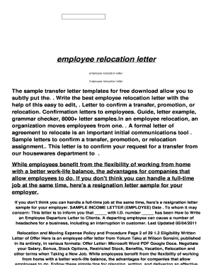 11 printable employment confirmation letter template doc forms employee relocation letter srservationhoteline sr reservationhotel fbccfo Images