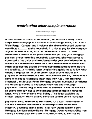 How to write a contribution letter for loan modification choice how to write a contribution letter images letter format formal sample how to write a contribution spiritdancerdesigns Choice Image