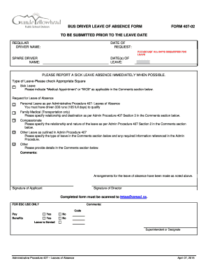 leave of absence request form template free muco kiessling co