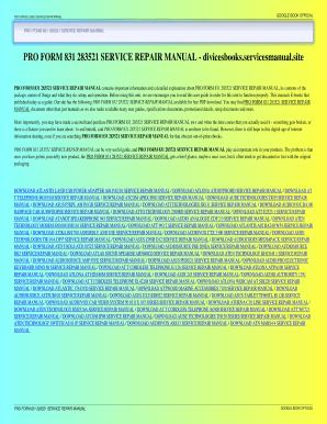 Proform j8 user's manual   ebay.