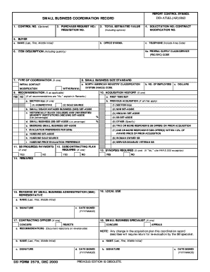 Small business subcontracting plan template fill out online us dod form dod dd 2579 us federal forms saigontimesfo