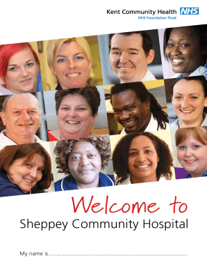 Sheppey Community Hospital - Kent Community Health NHS ... - kentcht nhs