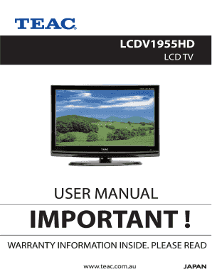 fillable online user manual important login awa fax email print rh pdffiller com TEAC Receiver Manual TEAC 3340 Service Manual