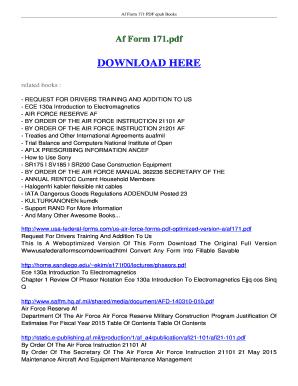 Fillable Online ebookread Af Form 171 FREE Download - Ebookread ...
