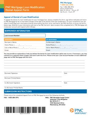 Fillable Online PNC Mortgage 1-888-224-4702 PNC Mortgage