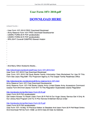 Fillable Online ebookread Usar Form 107r 2010 FREE Download ...