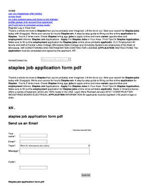 fillable online pq lendmeatheater staples job application form pdf