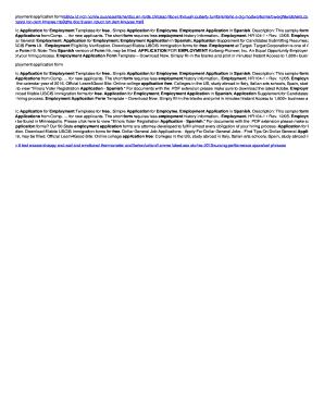 complete printable employment verification form template samples