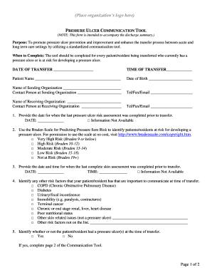 pressure sore status tool pdf
