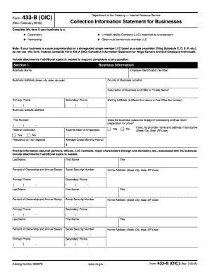 Fillable Online Form 656-B (Rev. 2-2016). Form 656 Booklet Offer ...