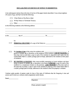30 day notice to terminate tenancy to download in word pdf i the undersigned declare that at the time of service of the papers herein altavistaventures Gallery