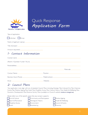 quick business plan edit fill out download printable online