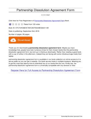 partnership dissolution agreement form partnership dissolution agreement form vanewsday