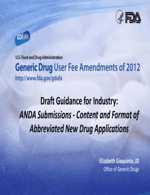 Fillable fda form 356h guidance - Edit Online & Download