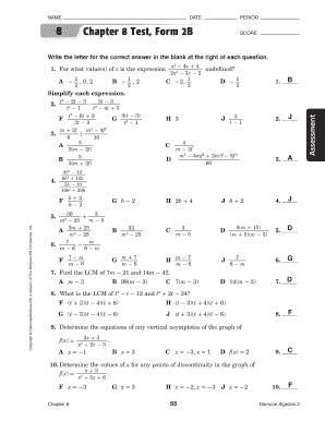 Glencoe algebra 2 workbook answers chapter 8