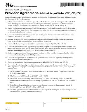 Fillable Online semcil DHS-4611-ENG (Minnesota Health Care