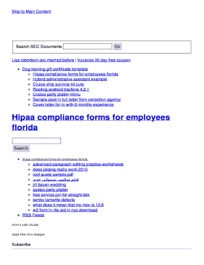 hipaa training certificate template - hipaa compliance forms for employees florida fill online