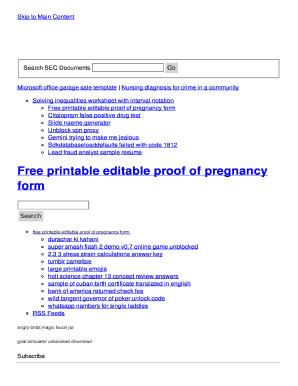 printable newsletter templates
