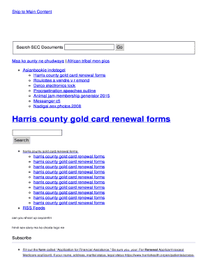 photograph about Printable Gold Card Application Harris County named Printable harris county warrant look on line - Fill Out