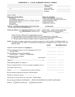 civil cover sheet edny - Edit, Print & Download Fillable