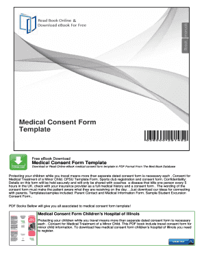 Free Child Travel Consent Form Template. Medical Consent Form Template    NocRead.Com  Free Child Travel Consent Form Template