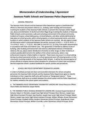 Fillable memorandum of understanding agreement edit online print memorandum of understanding agreement swansea public spiritdancerdesigns Image collections
