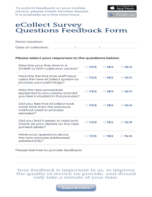 ECollect Survey.