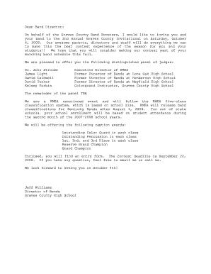 Fillable online prideofgravescounty invitation letter to directors fill online stopboris Gallery