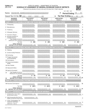 Fillable Online Schedule GE, Form G-45/G-49, Rev 2016, General ...