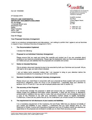 Fillable sample letter to creditors after death no estate uk edit proposal document pack iva10 creditfix me spiritdancerdesigns Gallery