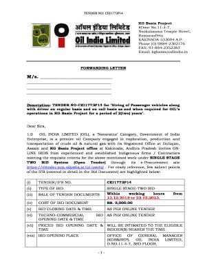 Oil india limited kakinada tenders dating