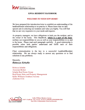 Unauthorized Tenant Letter - Letter BestKitchenView CO