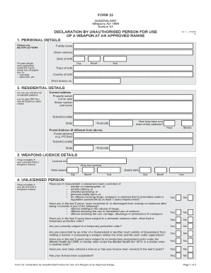 Printable unauthorised absence letter format edit fill out declaration by unauthorised person for use spiritdancerdesigns Images