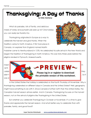 thanksgiving essay by kelly hashway answers