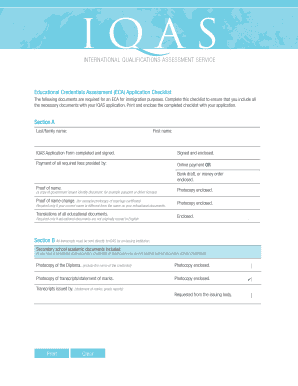 Fillable Online Educational Credentials Assessment (ECA