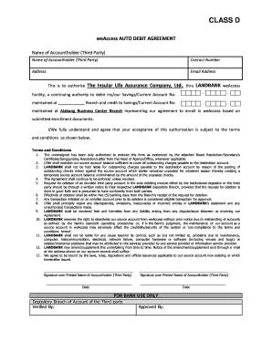 Sole agent agreement sample forms and templates fillable landbank weaccess enrollment form platinumwayz