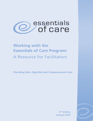 Working with the Essentials of Care Program: A  - NSW Health - qualitymatters