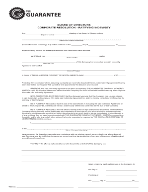 Editable Sample Corporate Guarantee Agreement Fill Out