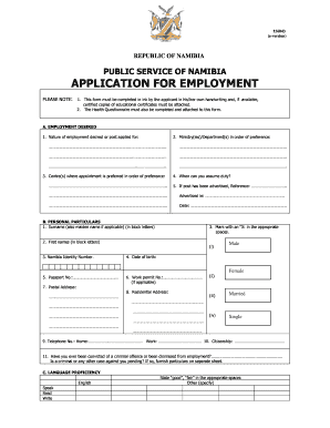39137876  Namibian Government Application Form on